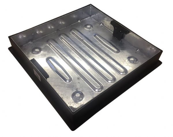 Clark Drain Block Paving Recessed Manhole Cover & Frame 450 x 450 x 80mm CD450SR